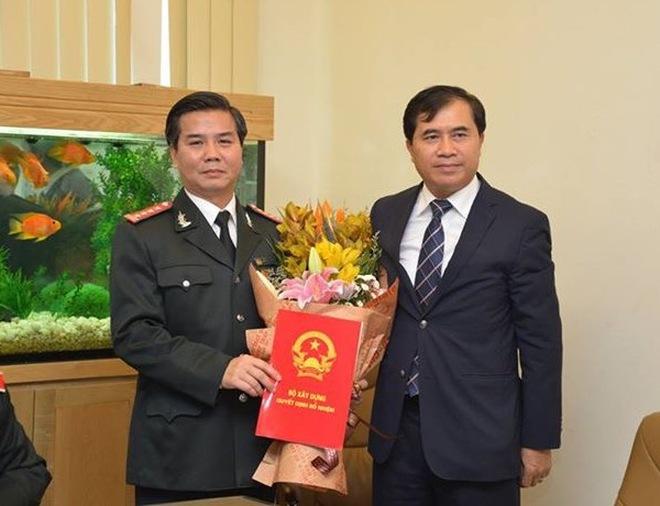 Ông Nguyễn Ngọc Tuấn giữ chức Chánh Thanh tra Bộ Xây dựng