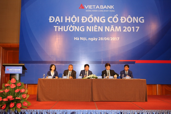 ĐHĐCĐ VietABank: Mục tiêu lợi nhuận 253 tỷ đồng, tăng vốn điều lệ lên 4.200 tỷ