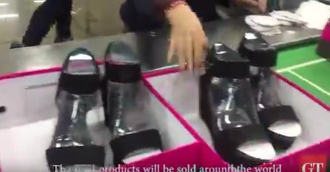 Bên trong xưởng giày 'Made in China' của ái nữ nhà Trump