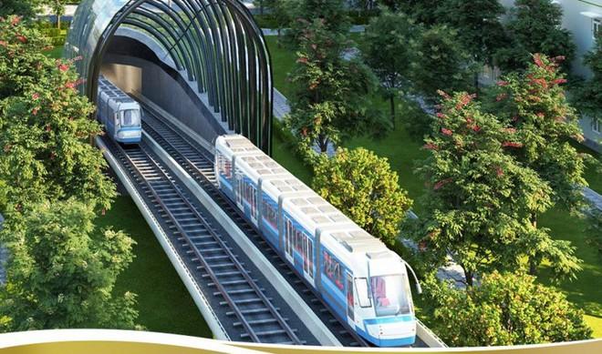 Giá vé tàu điện trên cao tại Tp.HCM được đề xuất 15.000 đồng