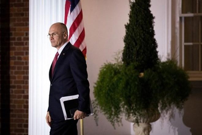 Ứng viên Bộ trưởng lao động Mỹ của ông Trump rút lui trong thị phi