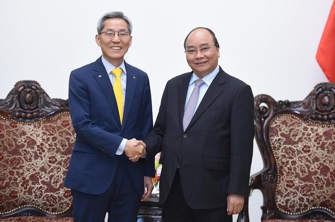 Tập đoàn tài chính hàng đầu của Hàn Quốc muốn mở rộng đầu tư tại Việt Nam