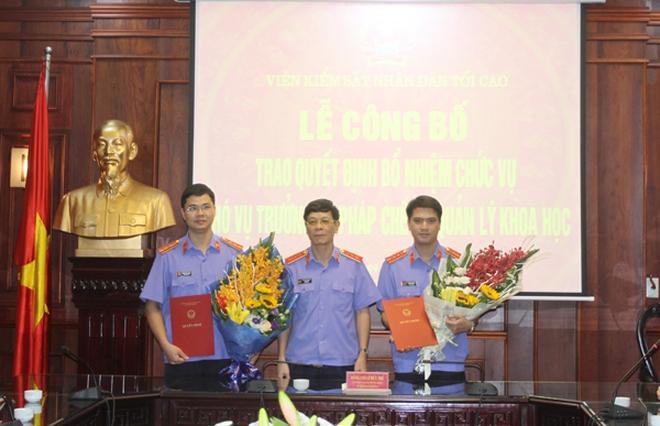 VKSNDTC bổ nhiệm nhân sự mới
