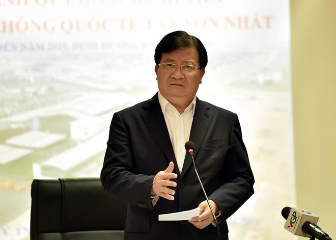 Khẩn trương hoàn thiện các phương án cải tạo, nâng cấp sân bay Tân Sơn Nhất