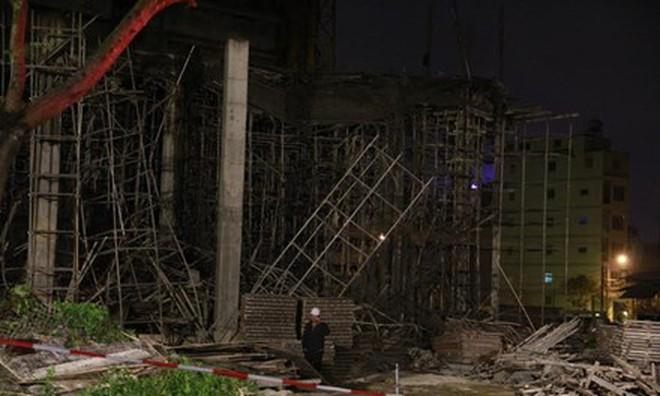 Nguyên nhân vụ sập sàn bê tông vùi lấp nhiều người ở Đà Nẵng