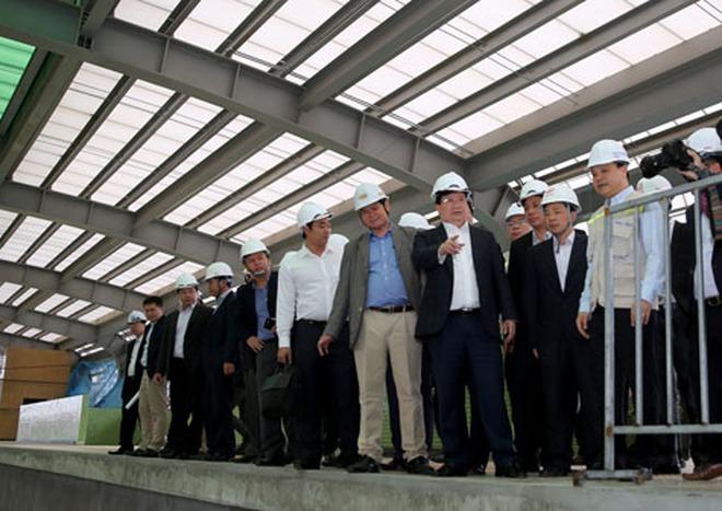 Đẩy nhanh tiến độ 2 tuyến đường sắt đô thị tại Hà Nội