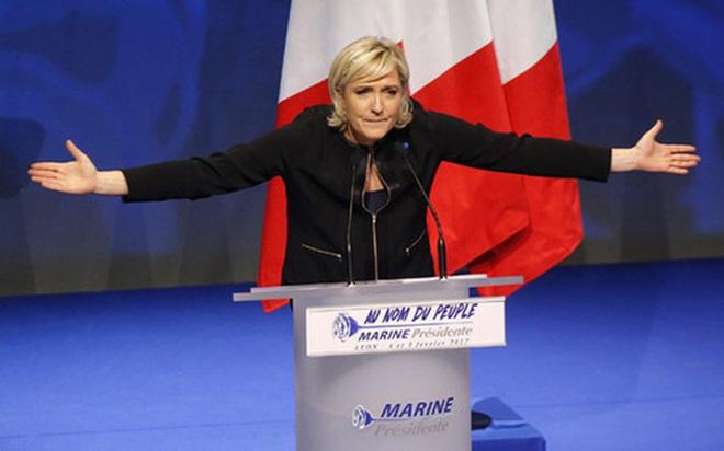 """Nhà đầu tư hoang mang trước """"Trump phiên bản nữ"""" của Pháp"""