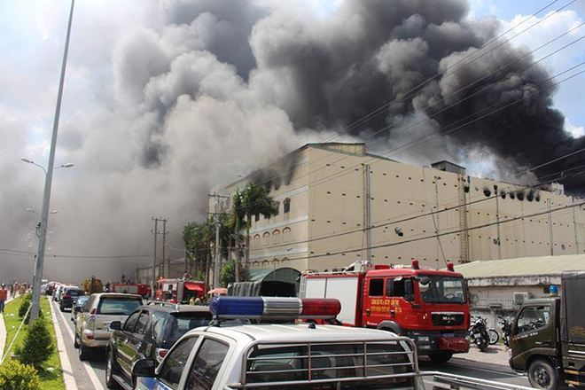 Công ty may ở Cần Thơ bị cháy được bồi thường 18 triệu USD