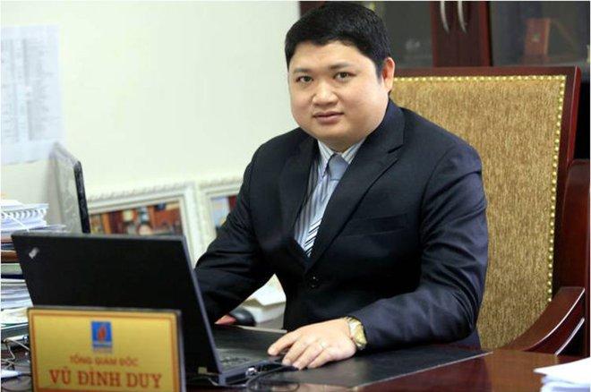 Khởi tố, ra lệnh bắt tạm giam nguyên TGĐ PVtex Vũ Đình Duy
