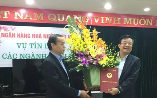Chủ tịch VAMC được bổ nhiệm làm Vụ trưởng Vụ Tín dụng các ngành kinh tế