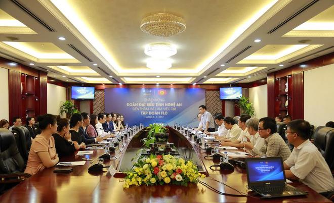 FLC dự kiến đầu tư Quần thể du lịch nghỉ dưỡng sinh thái 5.000 tỷ đồng tại Nghệ An