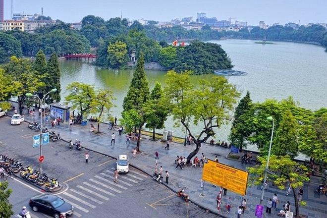 Sungroup sẽ thực hiện cải tạo hệ thống chiếu sáng trang trí xung quanh hồ Hoàn Kiếm