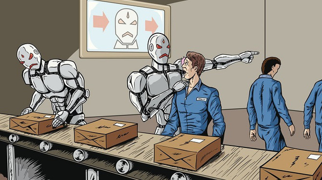 """Đội quân 45.000 robot """"cướp"""" việc làm của con người trong các kho hàng Amazon"""