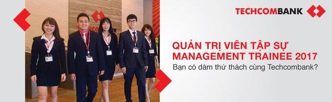 Techcombank tuyển ứng viên Chương trình Quản trị viên tập sự đầu tiên năm 2017