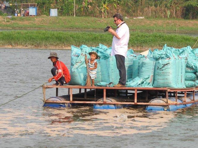 Ngay đầu năm, giá cá tra đã tăng vọt lên 23.500 đồng/kg
