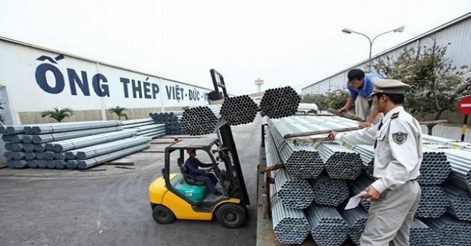 Quý 1/2017, ống thép Việt Đức (VGS) lãi 17 tỷ đồng