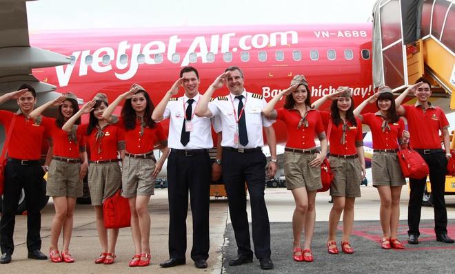 Các tổ chức nước ngoài nắm hơn 24% vốn cổ phần của Vietjet