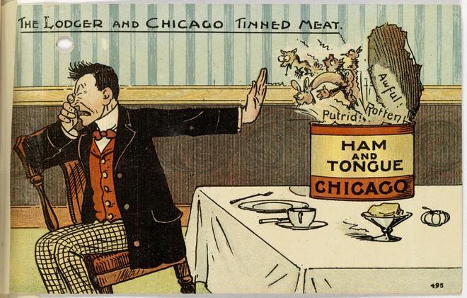 Hơn 100 năm trước, người Mỹ thực hiện an toàn thực phẩm thế nào? - H11