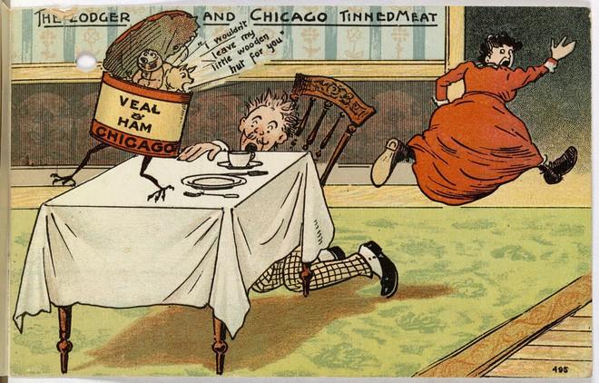 Hơn 100 năm trước, người Mỹ thực hiện an toàn thực phẩm thế nào? - H12
