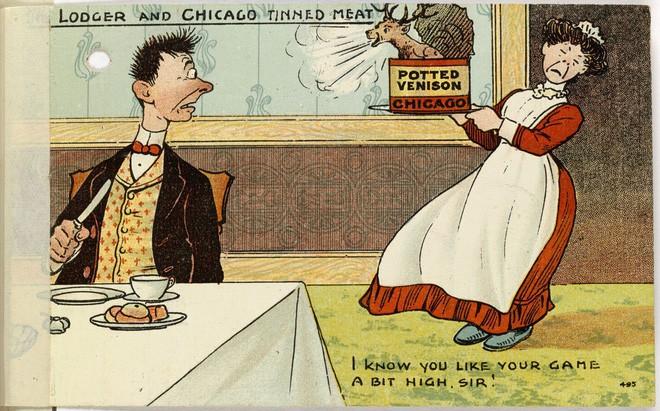 Hơn 100 năm trước, người Mỹ thực hiện an toàn thực phẩm thế nào? - H13