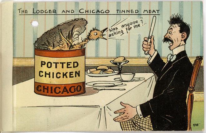 Hơn 100 năm trước, người Mỹ thực hiện an toàn thực phẩm thế nào? - H15