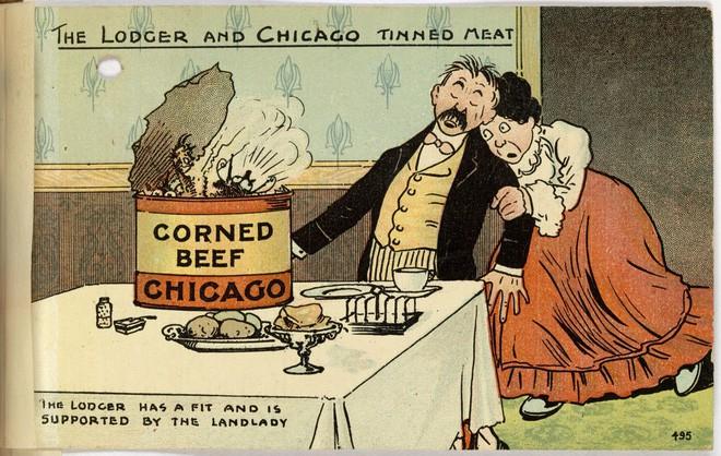 Hơn 100 năm trước, người Mỹ thực hiện an toàn thực phẩm thế nào? - H14