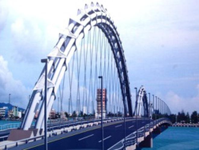 Đà Nẵng: Xây cầu đi bộ qua sông Hàn