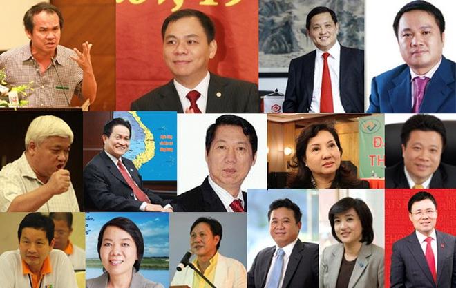[Slide] Gia nhập Top 30 người giàu nhất TTCK Việt Nam: Tài sản tối thiểu 500 tỷ đồng/người