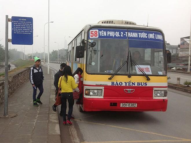 Hà Nội tăng giá vé xe buýt