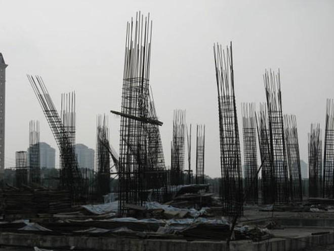 Ciputra Ha Noi Mall: Dự án tiêu chuẩn quốc tế biến thành đống sắt rỉ