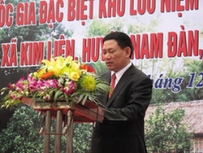 Ông Hồ Đức Phớc được bầu Bí thư tỉnh ủy Nghệ An