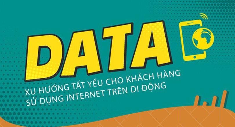 Data - xu hướng tất yếu cho khách hàng sử dụng Internet trên di động