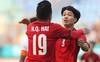 Công Phượng là cầu thủ Việt Nam ghi nhiều bàn thắng nhất trong năm 2018