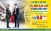 Nam A Bank ưu đãi lãi vay từ 6,5%/năm cho doanh nghiệp vừa và nhỏ
