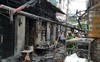 Nổ bình gas mini thiêu rụi 6 ki ốt cùng nhiều xe máy ở Sài Gòn