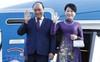 Thủ tướng Nguyễn Xuân Phúc và Phu nhân đến Saint Petersburg