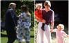 Đệ nhất phu nhân Mỹ gây sốt truyền thông khi thể hiện tình cảm với ông Trump và tái hiện lại khoảnh khắc ấn tượng này của Công nương Diana quá cố