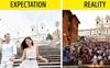 12 địa điểm du lịch nổi tiếng thế giới với ảnh trên mạng và đời thực khác nhau một trời một vực