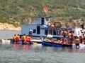 Hình ảnh: Sập nhà hàng nổi ở Ninh Thuận, nhiều người rơi xuống biển