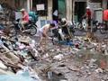 """Dự án trì trệ, dân """"nín thở"""" sống chung với nước bẩn, rác thải"""