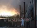 Hà Nội: Cháy lớn tại khu vực đường Phạm Văn Đồng - Cổ Nhuế