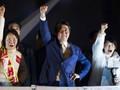 Chiến thắng vang dội, Thủ tướng Abe đi vào lịch sử chính trường Nhật Bản