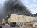 [VIDEO]: Cháy ngùn ngụt tại công ty may ở Cần Thơ