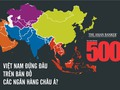 [Infographic] Việt Nam đứng đâu trong bản đồ ngân hàng Châu Á?