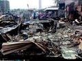 Khung cảnh hoang tàn sau vụ cháy 74 ngôi nhà ở Nha Trang