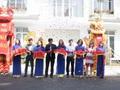 Hơn 200 khách hàng tham dự lễ khai trương nhà mẫu dự án Louis Garden