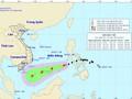 Bão Kai-Tak giật cấp 10 đang tiến vào Biển Đông