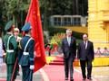 Lễ đón chính thức Thủ tướng Singapore Lý Hiển Long tại Hà Nội