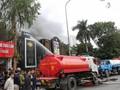 Nguyên nhân khiến quán karaoke ở Linh Đàm bốc cháy dữ dội