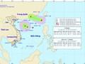 Áp thấp nhiệt đới đã mạnh lên thành bão số 3 trên Biển Đông